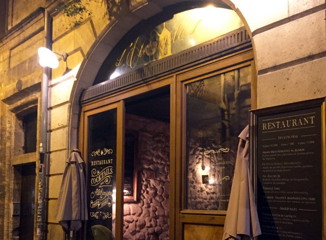 L Alchimiste Gintoneria Gin Bar Le Map Bordeaux