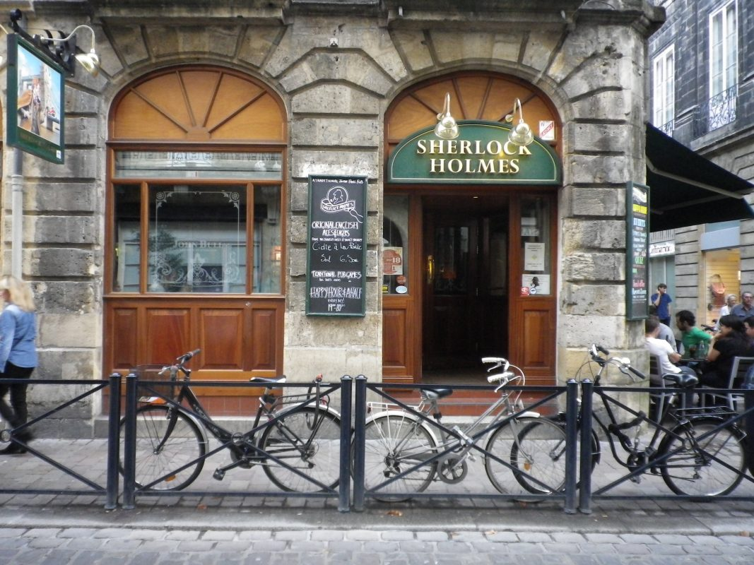 Sherlock Holmes Pub Le Map Bordeaux Local City Guide